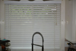 Blinds 2in white 27in (W) x 45-46in High