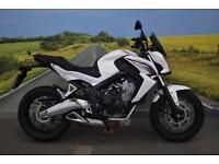 Honda CB650 **Datatag Protection, R&G Bobbins, ABS**