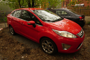 Ford fiesta 2012 SEL rouge 157 000 KM