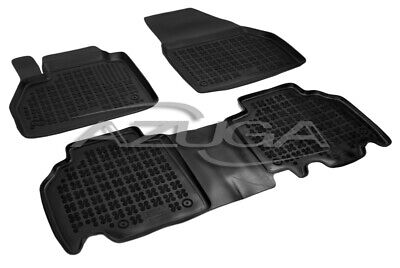 3D Gummi-Fußmatten für Mercedes Citan ab 2012 Hohe Gummimatten Automatten