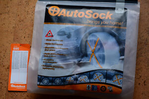 Autosock 695, Traction Wheel Covers for Ice or Snow