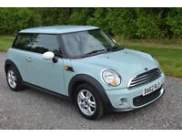 Mini 1.6TD ( Sport Chili ) One D ICE BLUE AC ALLOYS BLUETOOTH TAX £0 A YR