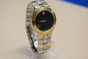 Movado Juro 81 G2 1899 Two-Tone Quartz Watch (#407)