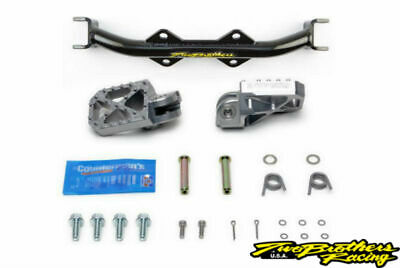Two Brothers 022-8-02 HD Chromoly Foot Peg Mount w/ Pegs KLX 110 / KLX110L 02-20