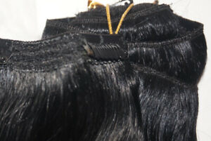 """100% remy human clip in hair extensions 240grams 22"""""""