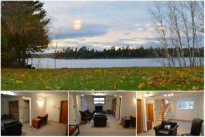 Waterfront apartment available to rent