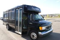 limo service and party bus