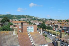 Well presented 1 bed flat with sea views