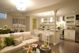 We turn your basement into a rental unit or in-law suite