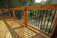 Do you need a DECK built for you?  Call me for a free estimate.