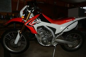 Very clean 2014 HONDA CRF 250 L