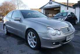 2007 57 Mercedes-Benz C220 2.1TD CDI SE DIESEL FULL SERVICE HISTORY