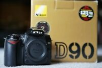 Nikon D90 DSLR Body (Converted for infrared photography)