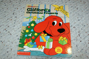 Clifford's Christmas Present Hardcover Board Lift a Flap Book