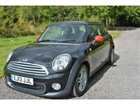 Mini Mini 1.6 Sport Chili Auto One 2013 BLACK PARK AIDS DAB RADIO BLUETOOTH