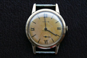 Marvin Vintage Gold Watch