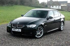 BMW 3 SERIES 330D M SPORT - POWERFUL SALOON , Black, Manual, Diesel, 2007