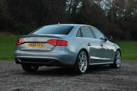 AUDI A4 3.0 TDI QUATTRO S LINE, SALOON, MANUAL, DIESEL 2009, SUPERB CONDITION