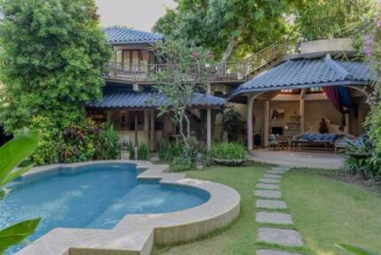 Unique villa in Seminyak, Bali for rent daily