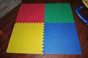 Tapis à 4 couleurs