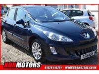 2008 Peugeot 308 SE GLASS ROOF - 1.6l petrol - low mileage - 63K