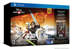 Big collection Disney infinity 3 PS4 Star Wars