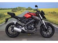 Yamaha MT-125 ** ABS, Crash bars, Hand Guards, **