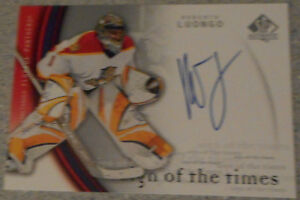 Roberto Luongo , 2005-06 SP Authentic , Sign of the times Gatineau Ottawa / Gatineau Area image 1