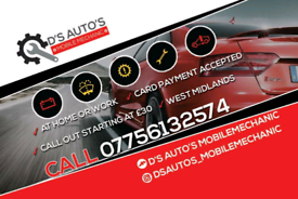 Mobile mechanic services