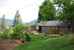 Small home for sale in the beautiful West Kootenay's of BC