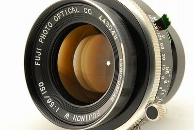 [Exc++] Fujinon W 150mm f5.6 Large Format Lens From Japan #1344378