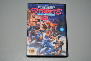 Streets of Rage 2 Sega Genesis with Box