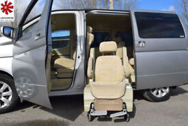 2005 (05) NISSAN ELGRAND 3.5 V6 4WD Automatic Pull Away Disabled Wheel Chair