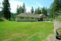 Great Acreage and home in Shannon Lake