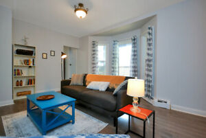 Clean & Central, Fully Furnished 2 Bedroom Apt - APRIL ONLY