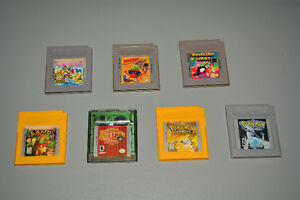 Nintendo Game Boy Games, Pokemon Yellow, Silver, Mario, Zelda...