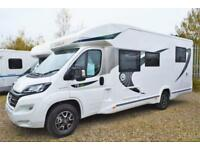 2018 Chausson 718XLB SPECIAL EDITION 4 BERTH LOW PROFILE MOTORHOME FOR SALE