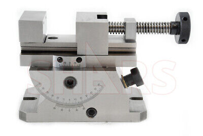 Shars Universal 360 Swivel Angle Plate Milling Vise .00004 New R