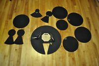 Sound off Drum Tom Kick Head Cymbal Silencers Mute Practice Pads