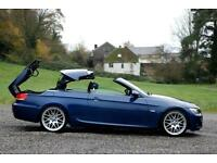 BMW 3 SERIES 325I M SPORT CONVERTIBLE - 62,202m, AUTO, PETROL, 2009, SUPERB CAR