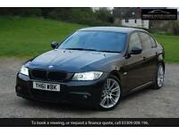 2011 BMW 3 SERIES 325D M SPORT - SAT NAV, FACE LIFT, BLACK,AUTO, Diesel,SALOON