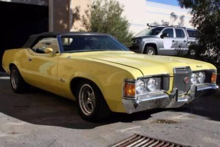 1971 Ford Mercury Cougar XR7 Convertible