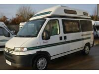 2000 AUTO-SLEEPER SYMBOL HIGH TOP CAMPER FOR SALE