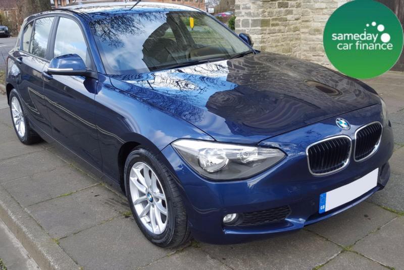 £226.39 PER MONTH BLUE 2012 BMW 116 1.6D EFFICIENT DYNAMICS 5 DR DIESEL MANUAL