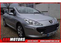2006 Peugeot 307 SPORT COUPE CABRIOLET- CONVERTIBLE - WAS £2395 NOW ONLY £1995