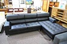 Hunter Full Leather Modular Sofa Lounge Suite was $3599 now $2599 Yagoona Bankstown Area Preview