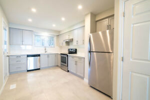 Stunning & Renovated! 3 bed 1 bath Unit on Hamilton Mountain!
