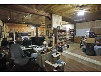 Looking for an Empty Office Space/Light Warehouse