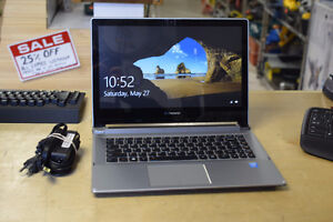 Lenovo Core i7 2.6GHz 8GB RAM 256SSD Laptop + Charger
