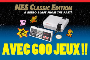Installation JEUX SUPPLÉMENTAIRES Nintendo NES Classic Edition